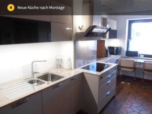 Neue Küche nach Montage